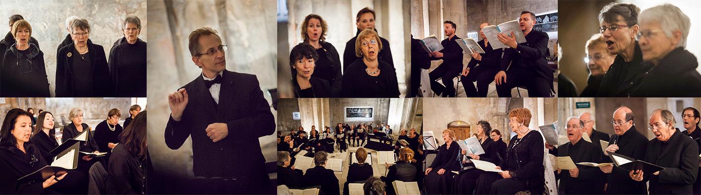 La passion du chant choral.